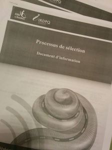 The seven-page booklet that explains all steps of CI process in detail