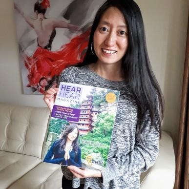 Kimberley Chan on Hear Hear Magazine